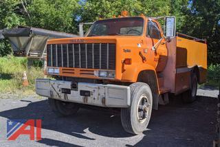 1984 GMC Topkick Tanker Truck