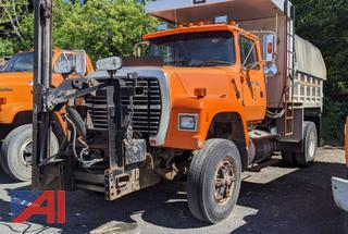 1997 Ford L9000 Dump Truck with Sander