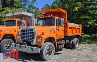 1986 Ford L8000 Dump Truck