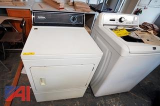 Speed Queen Dryer and Whirlpool Stove/HS
