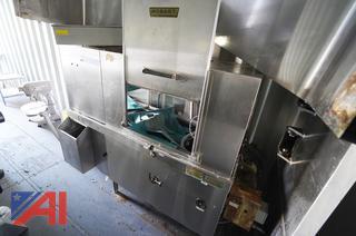 Hobart Commercial Dishwasher & Drain Table/HS