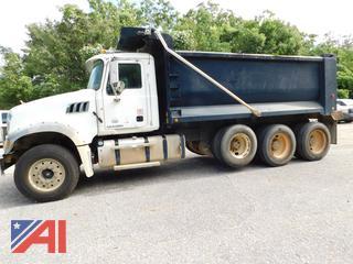 2011 Mack GU700 Granite Dump Truck