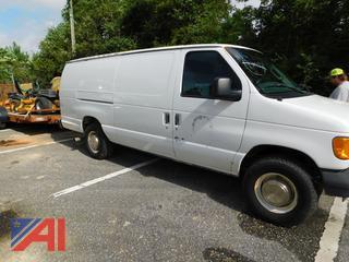 2003 Ford E350 Super Duty Van