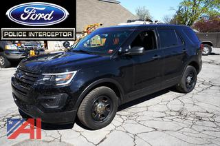 REDUCED BP 2017 Ford Explorer 4 Door/Police Vehicle