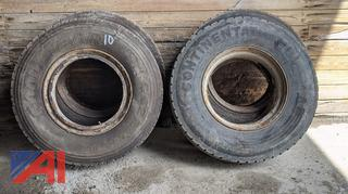 Used Truck Tires on Dayton Rims
