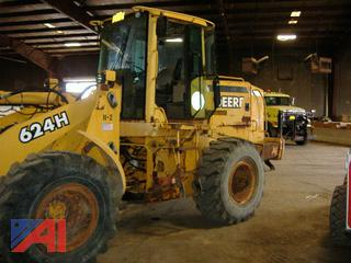 2001 John Deere 624H Wheel Loader