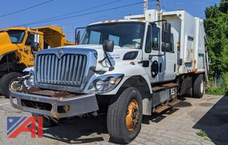 2012 International F2674 Work Star Packer/Garbage Truck