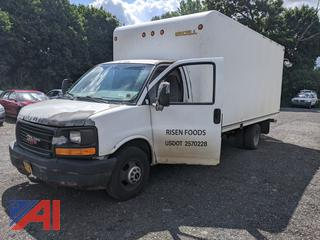 2003 GMC Savana G3500 Box Truck