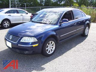 2004 Volkswagon Passat Sedan