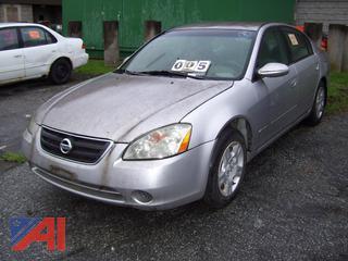 2003 Nissan Altima Sedan
