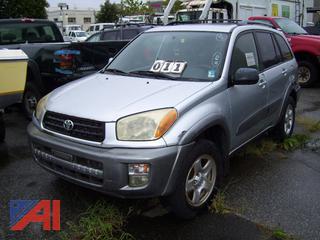 2001 Toyota Rav4 SUV