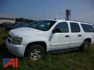 (#1637) 2007 Chevy 1500 LS Suburban (Parts Only)