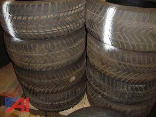 (#1630) 235/55/17 Used Snow Tires