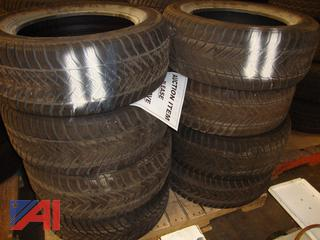 (#1631) 235/55/17 Used Snow Tires