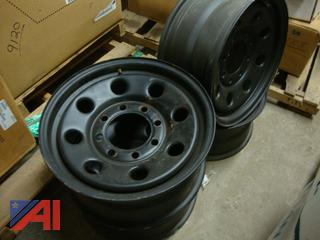 (#1633) Ford F250 Rims, New/Old Stock