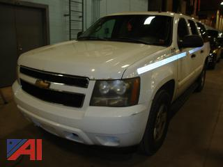 (#1636) 2007 Chevy 1500 LS Suburban (Parts Only)