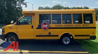(#308) 2007 Chevy Express G3500 Mini School Bus