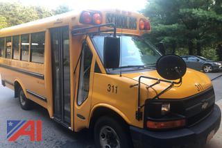 (#311) 2007 Chevy Express G3500 Mini School Bus