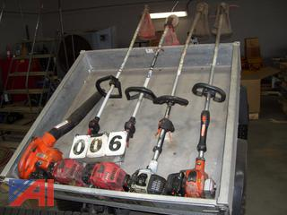 Trimmers and Hand Held Blower