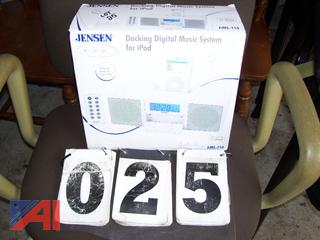 Jensen Docking Digital Music System