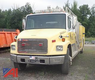 1994 Freightliner FL80/ E One Ladder/ Pumper
