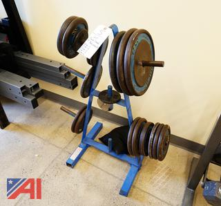 Plate Stand & Plate Weights