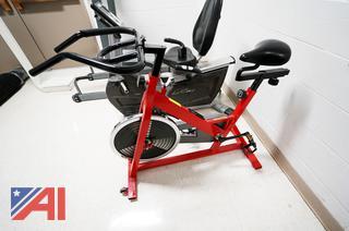 Sunny Health Fitness Indoor Cycling Bike, #SF-B1001