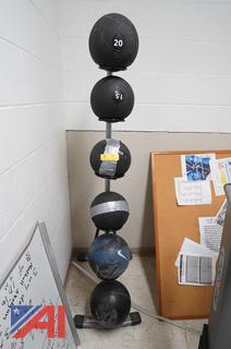 Weight Balls & Stand
