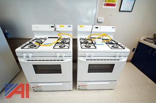 Frigidaire 4 Burner Gas Range/Ovens
