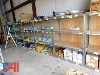 Sections of Warehouse Shelving