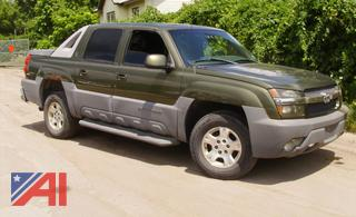 (#24) 2002 Chevy Avalanche 1500 Pickup Truck