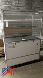 Microzone Clean-CEIL Negative Flow Fingerprint Station