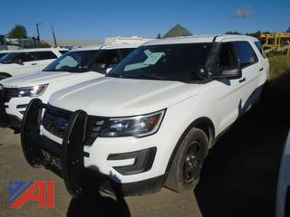 REDUCED BP 2017 Ford Explorer SUV/Police Vehicle