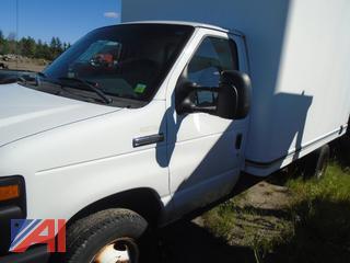 2008 Ford E350 Box truck
