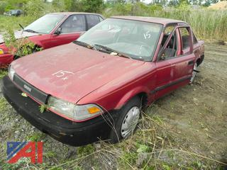 (#15) 1989 Toyota Corolla DLX 4 Door Sedan