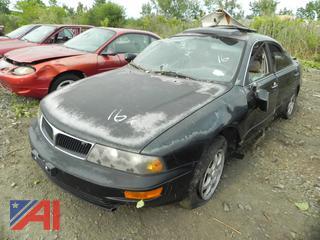 (#16)  1997 Mitsubishi Diamante 4 Door Sedan