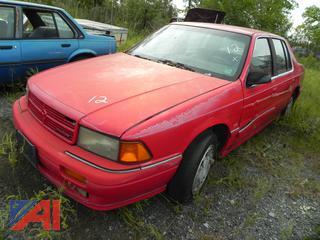 (#12) 1992 Dodge Spirit ES 4 Door Sedan
