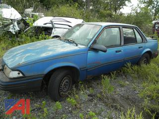 (#11) 1991 Chevy Cavalier RS 4 Door Sedan