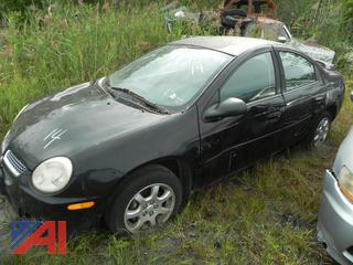 (#14) 2005 Dodge Neon 4 Door Sedan