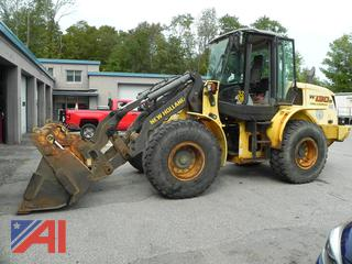 2008 New Holland W130B Tool Carrier Front Loader