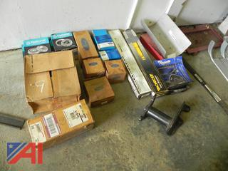 (#9) Various Bearings & Suspension Parts, New/Old Stock