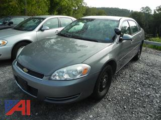 2007 Chevy Impala 4 Door/Police Vehicle