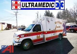 2009 Ford Road Rescue E450 Ultra Medic Type III Ambulance