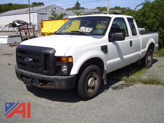 2008 Ford F250 Super Duty Extended Cab Pickup E#35789