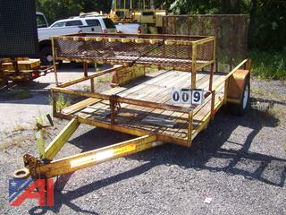 1999 Masson 7612L Trailer, E#17625