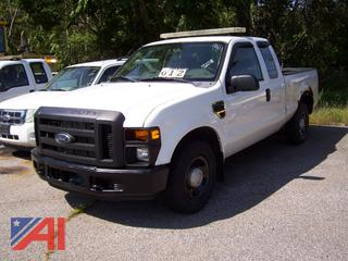 2008 Ford F250 Super Duty Pickup Truck, E#35732