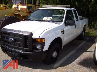 2008 Ford F250 Super Duty Pickup Truck, E#35780