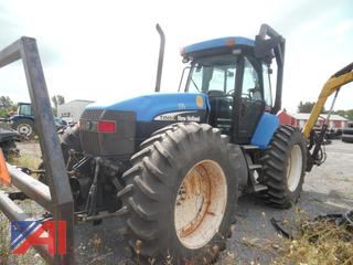 2004 New Holland TV145 Bi-Directional Tractor with Attachments
