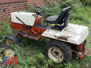 GravelyLawn Tractor with Mower and Deck