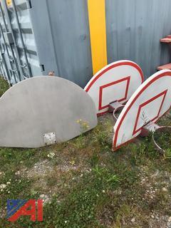 Metal Basketball Backboards